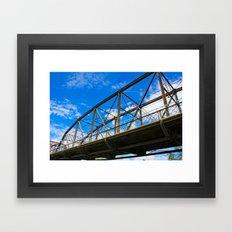 Victoria Bridge Framed Art Print