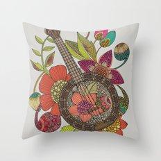 Ever Banjo Throw Pillow