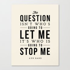 QUESTION Canvas Print