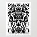 Afrodeity Art Print