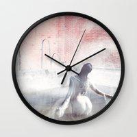 Fog Portrait Wall Clock