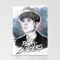 Tommy Shelby Stationery Cards