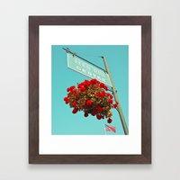 Fern Hill Center Framed Art Print