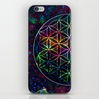 Flower Of Life In The Un… iPhone & iPod Skin