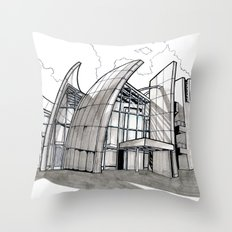 Jubilee Church Throw Pillow