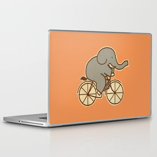 Elephant Cycle Laptop & iPad Skin
