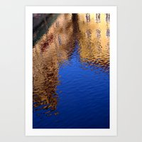 Reflections of Prague Art Print