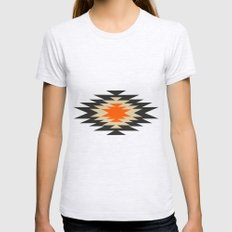 Aztec 1 Womens Fitted Tee Ash Grey SMALL