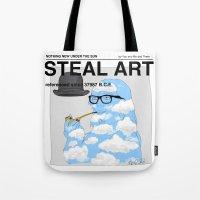 STEAL ART Tote Bag