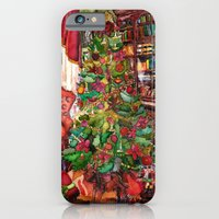 Bibliophile's Christmas iPhone 6 Slim Case