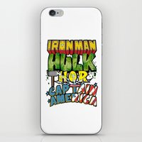 The Avengers iPhone & iPod Skin