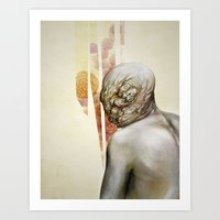 The Fault Does Not Want … Art Print