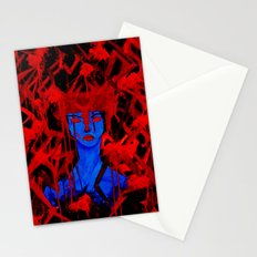 Blue Warrior Stationery Cards