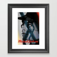 Looking Out Across The N… Framed Art Print