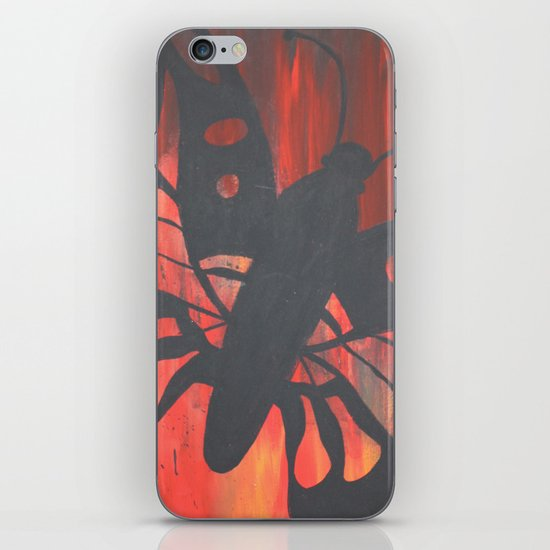 """monarch daydream"" iPhone & iPod Skin"