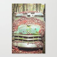 Old Chevy Blues Canvas Print