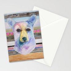 Bear Bust Stationery Cards