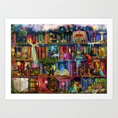 Whimsy Trove - Treasure … Art Print
