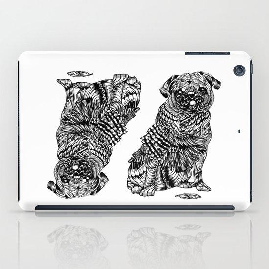 Pug Feather iPad Case