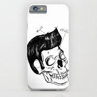Elvis Skull iPhone 6 Slim Case