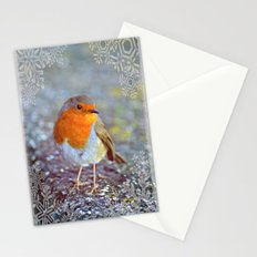 Robin Christmas Stationery Cards