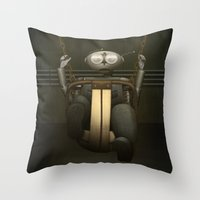 I Love Swinging Throw Pillow