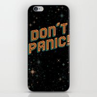 Don't Panic! Pixel Art iPhone & iPod Skin