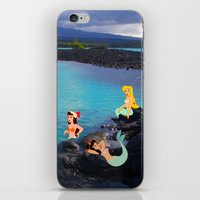 Peter Pan's Mermaid Lagoon iPhone & iPod Skin