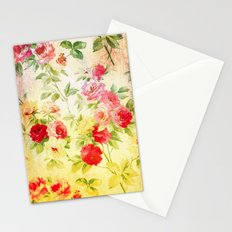 VINTAGE FLOWERS XXVII - for iphone Stationery Cards