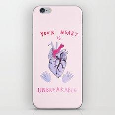 Your Heart Is Unbreakabl… iPhone & iPod Skin