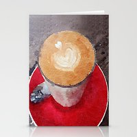 I Heart Coffee Stationery Cards
