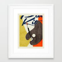 Art Supplies Framed Art Print