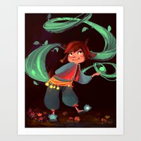 Little Magic In The Wood… Art Print