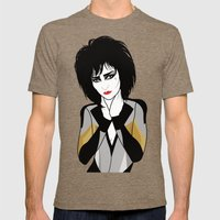 Siouxsie Sioux Mens Fitted Tee Tri-Coffee SMALL