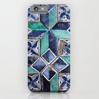 iPhone & iPod Case featuring  Tiling with pattern 3 by Lucie
