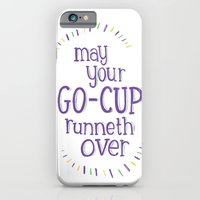 iPhone & iPod Case featuring Go-Cup (type only) by Julia Lavigne