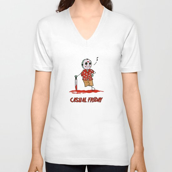 Casual Friday V-neck T-shirt