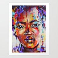 Closer - Portrait Of A B… Art Print