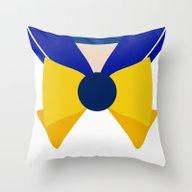 Sailor Uranus Bow Throw Pillow
