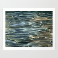 Water Abstract Art Print