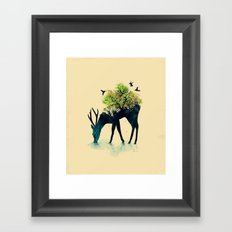 Watering (A Life Into It… Framed Art Print