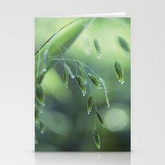dew drop morning Stationery Cards