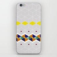 Cube Geometric IV iPhone & iPod Skin