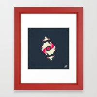 Satellite 3 Framed Art Print