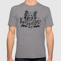 Batshit Crazy Mens Fitted Tee Tri-Grey SMALL