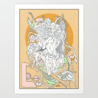 Love Is Golden Art Print