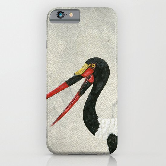 Saddle-billed Stork Quinn 2 iPhone & iPod Case