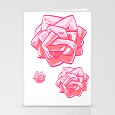 Hand Rose Stationery Cards