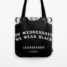 ☽ ON WEDNESDAYS WE WEA… Tote Bag