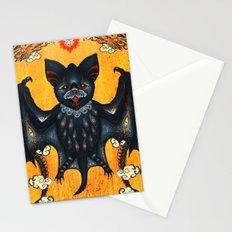 Black Bat Stationery Cards